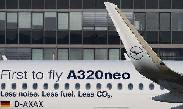 Lufthansa recibe el primer Airbus A320neo producido por el fabricante de aviones en Hamburgo - Noticias de airbus a320neo