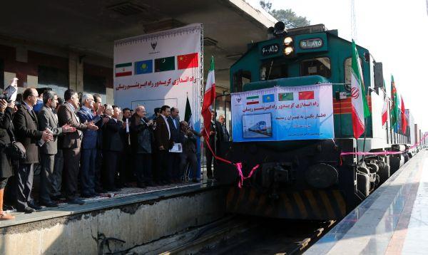 Llega a Teherán primer tren chino para reavivar Ruta de la Seda - Noticias de hassan rouhani