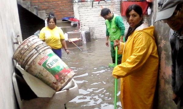 Arequipa: lluvias dejan afectadas a más de 3,000 viviendas - Noticias de desastres