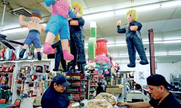 Exitosa venta de piñatas de Donald Trump en Albuquerque y Santa Fe - Noticias de origen