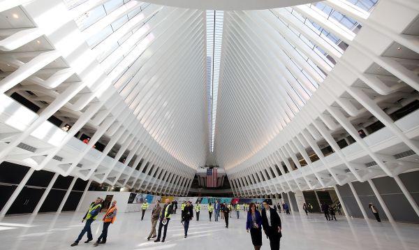 Nueva central de trenes Oculus de US$ 4,000 millones se abrió en Nueva York - Noticias de santiago calatrava
