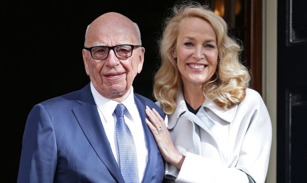 Rupert Murdoch y Jerry Hall se casaron en Londres - Noticias de jerry hall