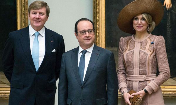 Rey Guillermo Alejandro y reina Máxima de Holanda visitan Francia - Noticias de reina beatriz