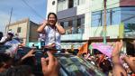 Candidato a la vicepresidencia por Fuerza Popular entrega víveres, pese a que ley electoral lo prohíbe - Noticias de fernando tuesta