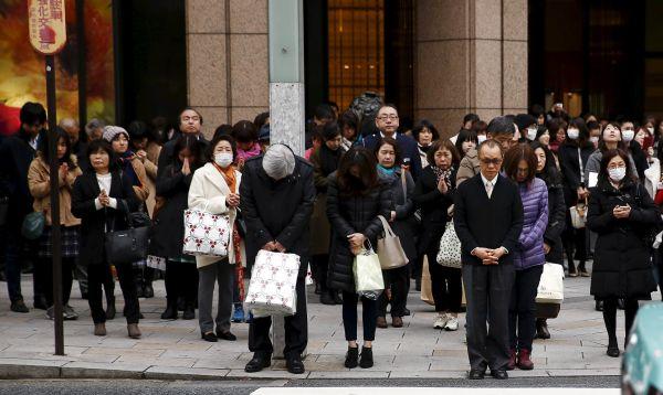 Japón conmemora con minuto de silencio el sismo y el tsunami del 2011 - Noticias de desastres