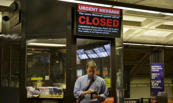 Metro de Washington DC cerrará todo un día para inspección - Noticias de sector privado