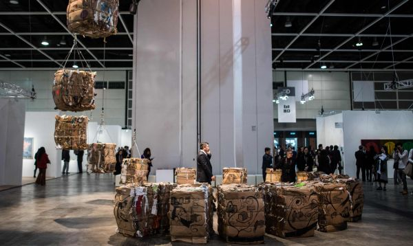 Gran feria de arte contemporáneo Art Basel empieza en Hong Kong - Noticias de art basel