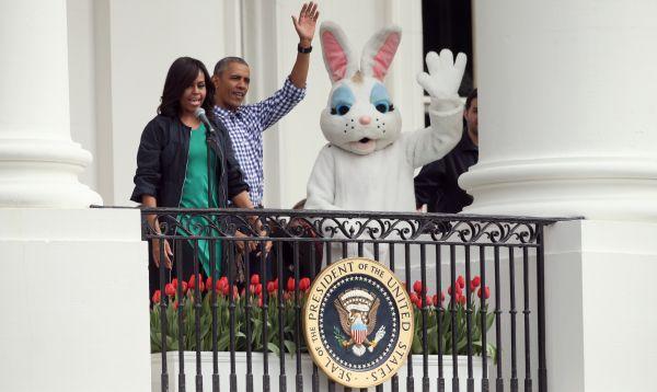 Los Obama encabezan festejo de huevos de Pascua - Noticias de carrera huevos de pascua