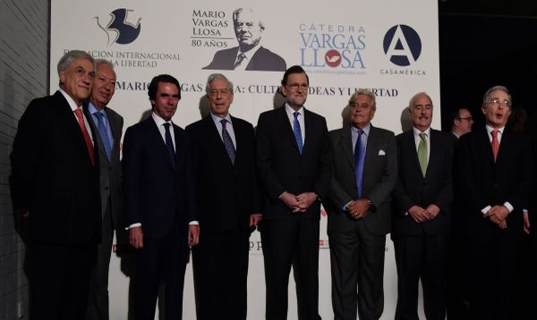 Mario Vargas Llosa abre simposio en Madrid para celebrar su cumpleaños - Noticias de alvaro vargas llosa