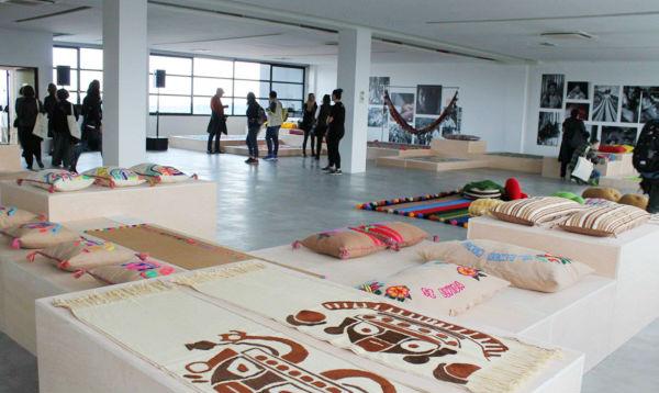 Artesanía textil peruana se luce en feria de Milán - Noticias de semana del diseño de milán