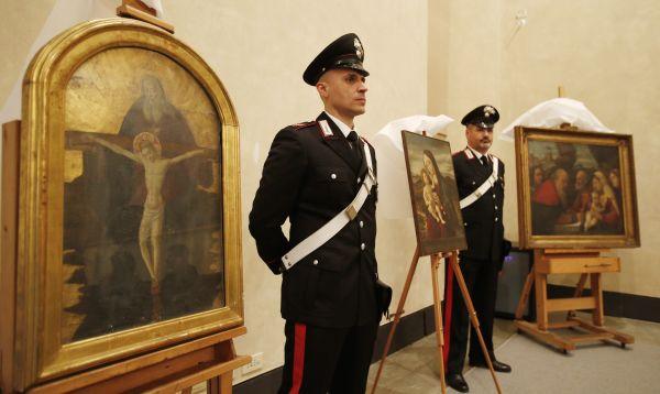 Policía italiana recupera cuadros renacentistas robados por los nazis - Noticias de toscana