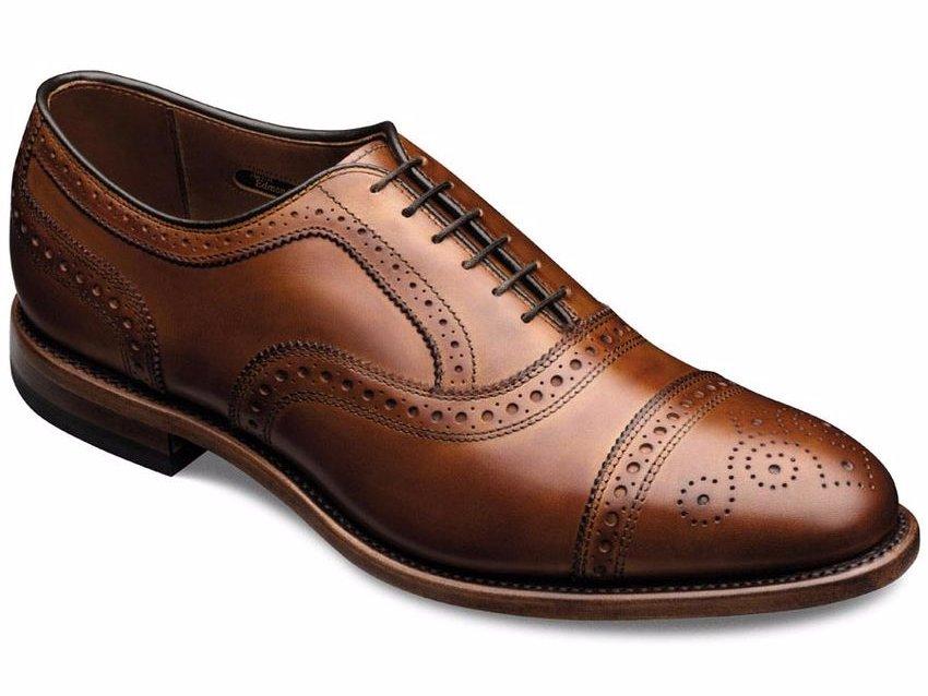 zapato zapato picado marron marron oxford nwYHrYX8