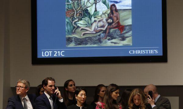 Pintura de Frida Kahlo alcanza nuevo récord para arte latinoamericano en subasta de Christie´s - Noticias de frida kahlo