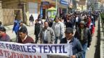 Bolivia: Gobierno cierra textil estatal y echa a 1,000 obreros - Noticias de venezuela 2013