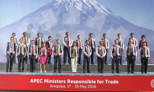 Se inició Reunión de Ministros Responsables del Comercio de APEC 2016 en Arequipa - Noticias de asia