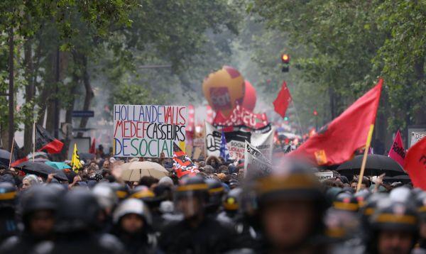 Malestar social continúa en Francia en un clima cargado de violencia - Noticias de reforma laboral