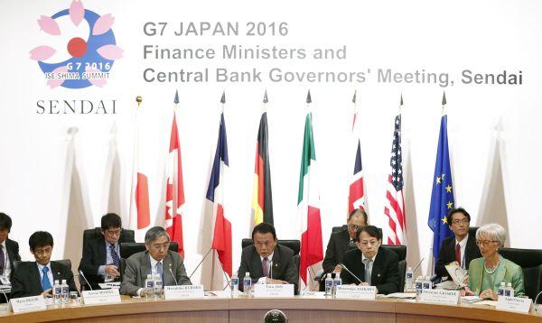 G7: Jefes de economía se reúnen en Japón - Noticias de jacob lew