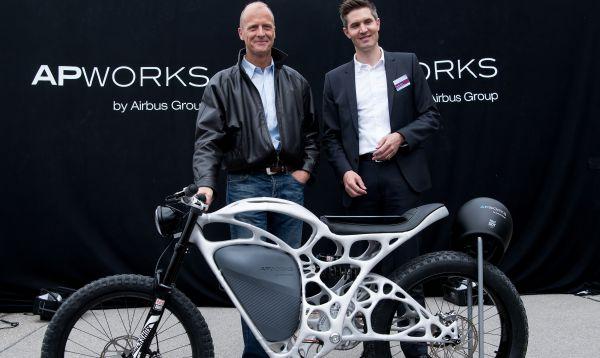 Fabrican primera motocicleta eléctrica impresa en 3D - Noticias de airbus