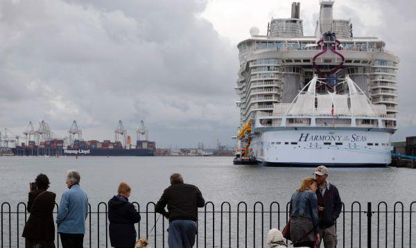 El crucero más grande del mundo Harmony of the Seas sigue su recorrido por los mares de Europa - Noticias de royal caribbean