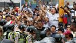 Venezuela: La policía reprime marcha que reclama revocatoria de Nicolás Maduro - Noticias de ley universitaria