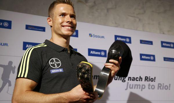 Saltador amputado alemán espera participar en los Juegos Olímpicos de Rio - Noticias de markus leser