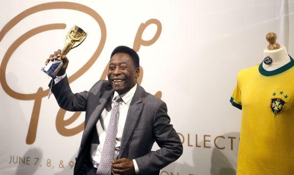 Pelé subasta sus trofeos en Londres - Noticias de martin principe