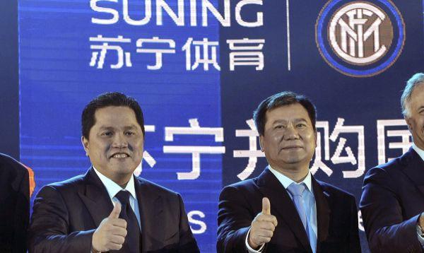 Compañía china Suning compra participación de 70% en Inter de Milán - Noticias de erick thohir
