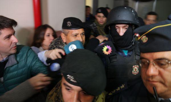 Narco argentino detenido en Paraguay teme por su vida y rehúsa extradición - Noticias de julian perez
