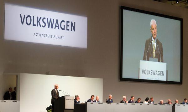 Presidente de Volkswagen se disculpa ante accionistas por 'dieselgate' - Noticias de origen