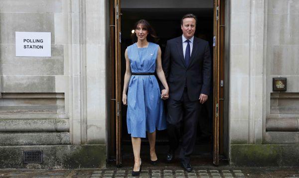 David Cameron vota en el referéndum sobre la UE - Noticias de brexit