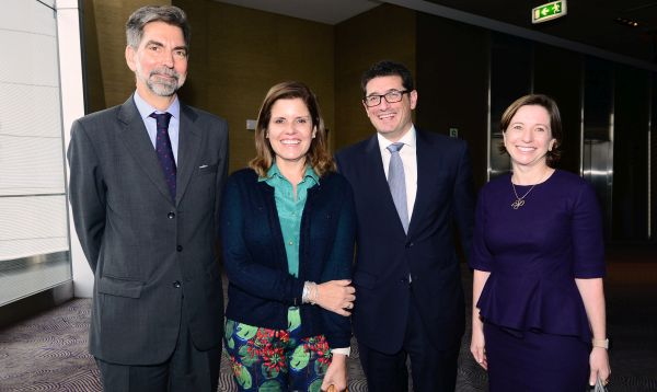 Vicepresidenta Mercedes Aráoz se reunió con empresarios españoles - Noticias de empresarios