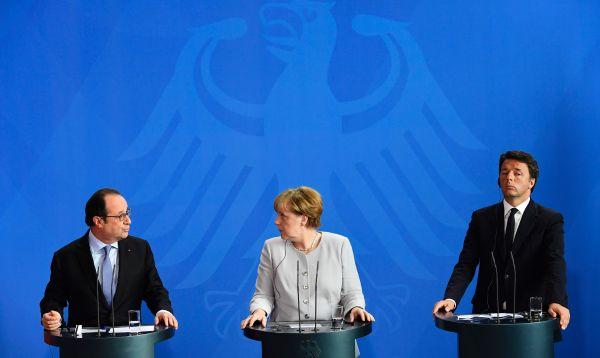 """Alemania, Francia e Italia propondrán """"nuevo impulso"""" para la UE - Noticias de brexit"""