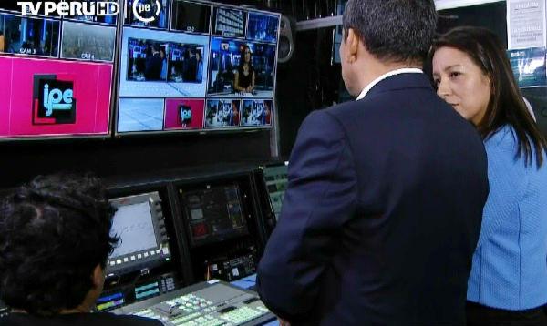 Presidente Humala inauguró nuevo canal de TV pública - Noticias de tv perú