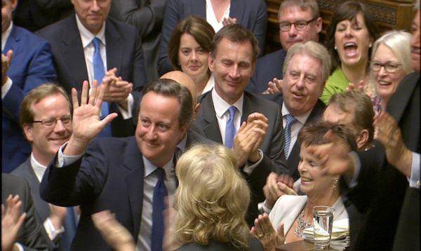 David Cameron se despide del Parlamento británico - Noticias de margaret thatcher