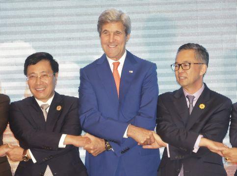 John Kerry visita Laos para una cumbre de la Asean bajo tensión - Noticias de asia meridional