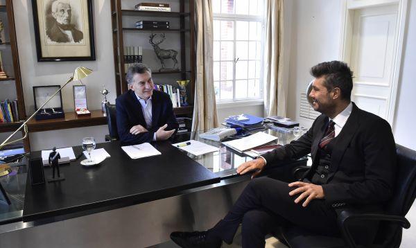 Mauricio Macri y Marcelo Tinelli hacen las paces con un snapchat - Noticias de marcelo tinelli