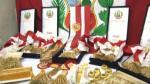 Fiestas Patrias: ¿cómo se confecciona la banda presidencial? - Noticias de oscar benavides