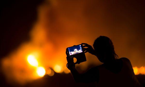 Incendio forestal en España continúa por tercer día - Noticias de reserva