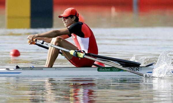 Río 2016: Renzo León, en remo, fue el primer peruano en competir en las olimpiadas - Noticias de repechaje