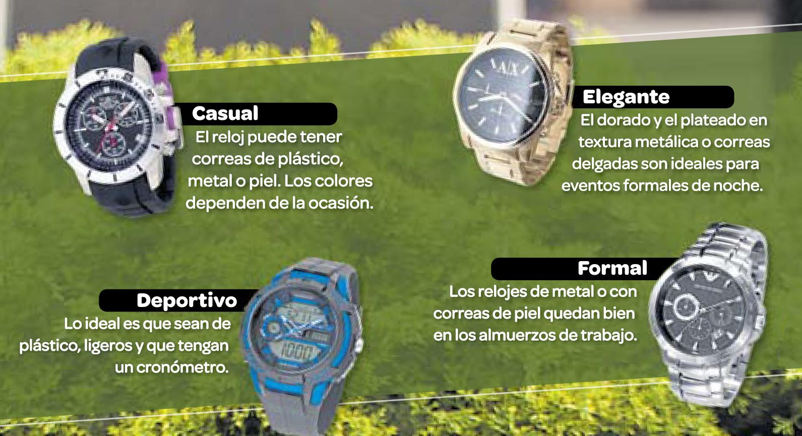 794e9c572a91 La moda a toda hora  ¿qué tipo de reloj usar en cada ocasión ...
