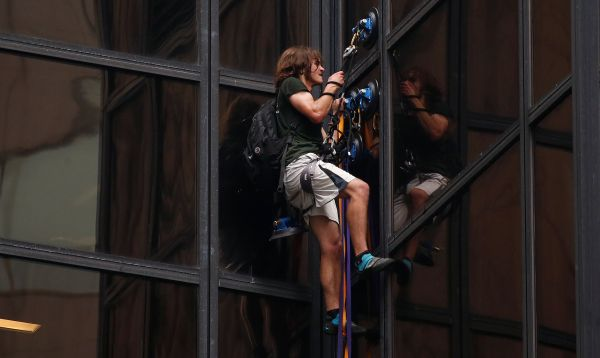 Un hombre escala torre Trump en Nueva York, informa la policía - Noticias de rascacielos