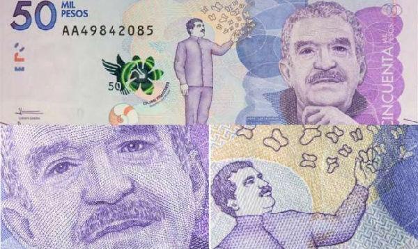 Colombia lanzó billete en honor a Gabriel García Márquez - Noticias de jose uribe