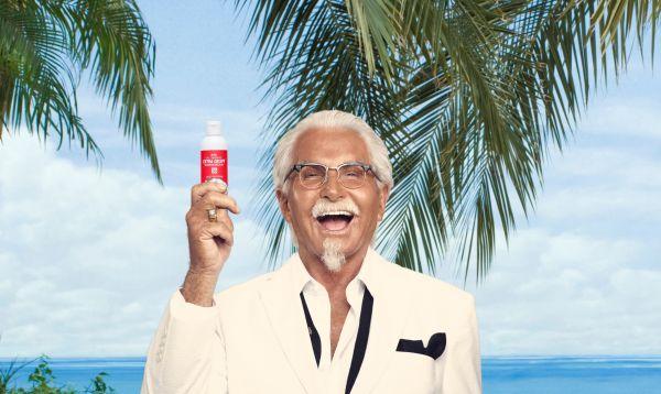 """KFC regala bloqueador solar con """"olor a pollo frito"""" - Noticias de coronel sanders"""