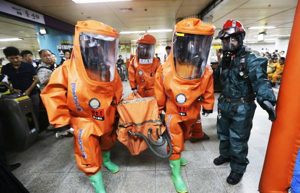 Corea del Sur y Estados Unidos inician ejercicios militares conjuntos - Noticias de estación de bomberos
