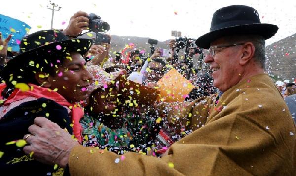 PPK supervisó autopista que unirá Tacna con La Paz - Noticias de tacna la paz