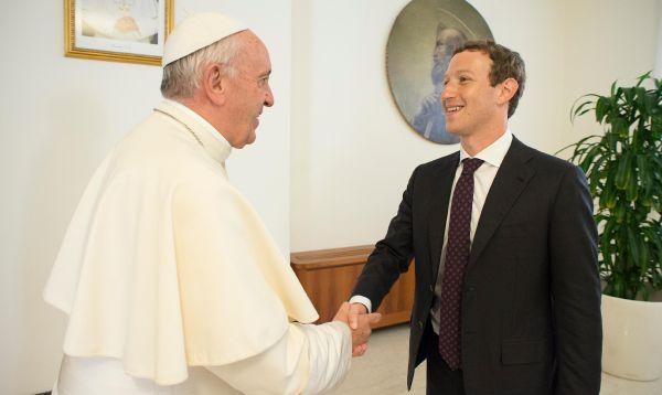 Papa Francisco y Mark Zuckerberg conversan sobre cómo ayudar a los pobres - Noticias de priscilla chan