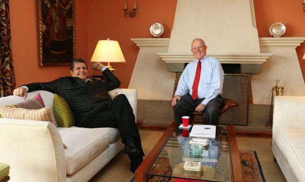 PPK y Alan García se reunieron esta tarde - Noticias de alan garcia perez