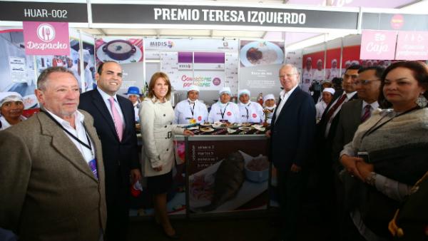 PPK probó la sazón de los comedores populares en Mistura - Noticias de gastronomia