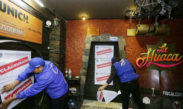Cierran el Bar Munich y discoteca La Huaca en el Centro de Lima - Noticias de 80s