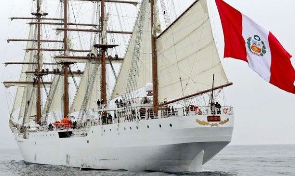 Buque velero peruano Unión llegará este martes a Cuba - Noticias de julio vela